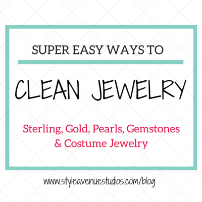Clean jewelry how to tips