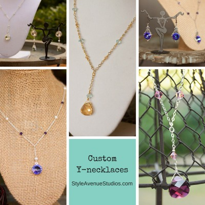 sweetheart neckline necklaces