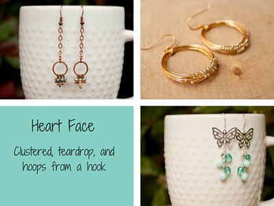Earrings for Heart Face Shape