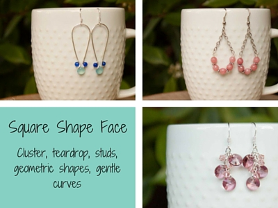 Earrings for Square Face Shape