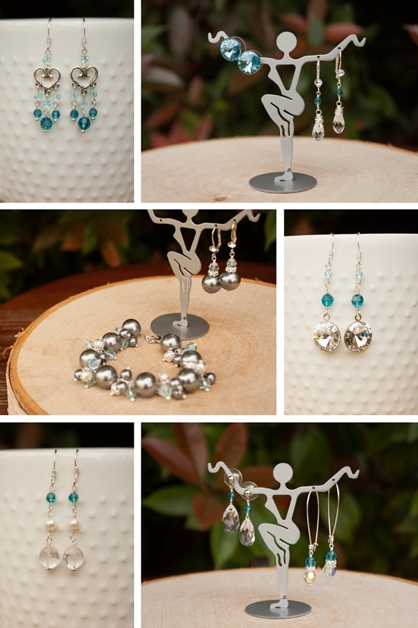bridesmaid jewelry earrings