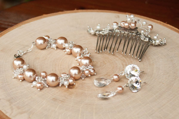 Rose Gold Bridal Jewelry
