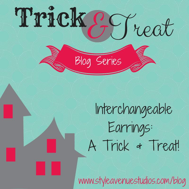 style avenue studios, earrings, trick & treat, handmade jewelry