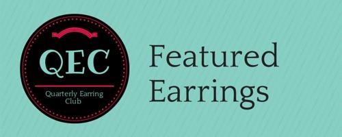 Quarterly Earring Club, earrings, handmade jewelry, earring subscription
