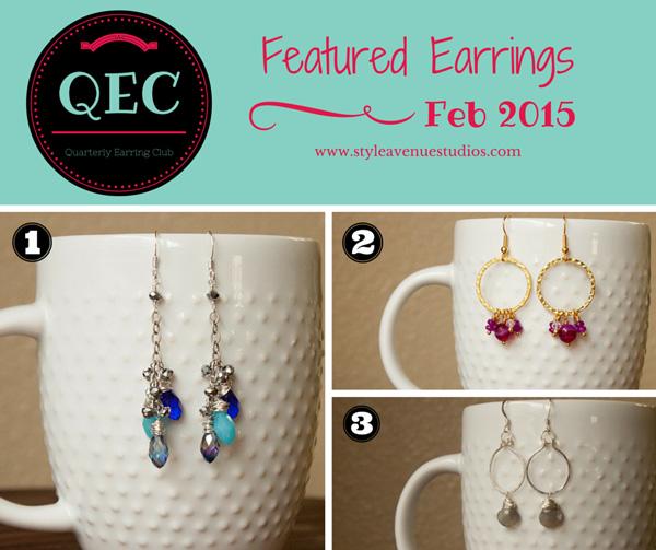 Earring club handmade QEC
