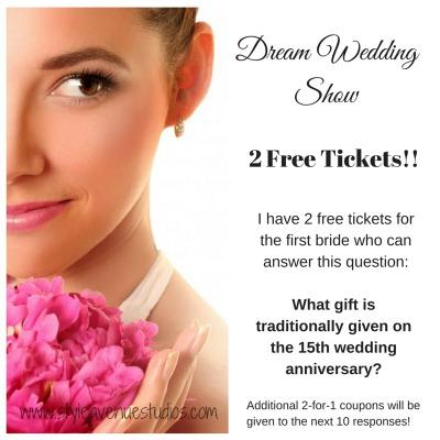 Dream Wedding Show Free Tickets