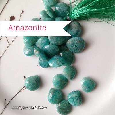 Blue green gemstone