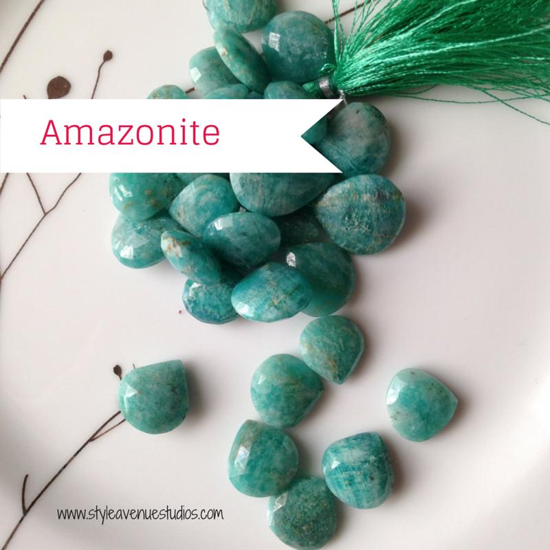 Amazonite gemstones