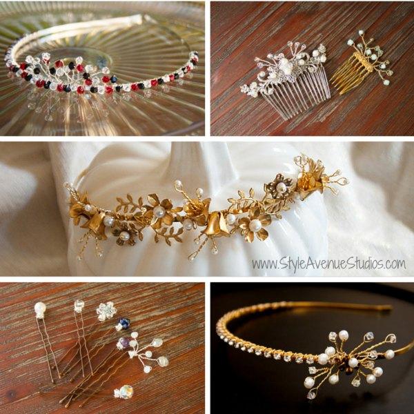 Bridal Hair Accessories Custom
