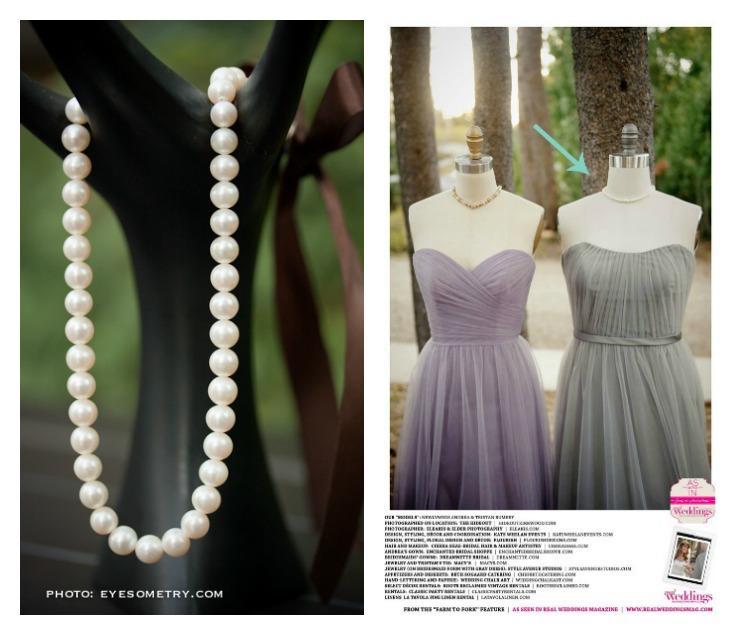 Pearl Necklace Bridesmaid