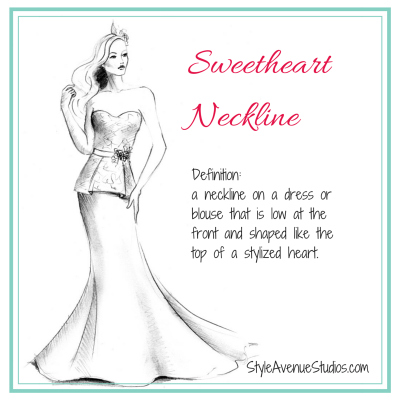 How to Accessorize Sweetheart neckline