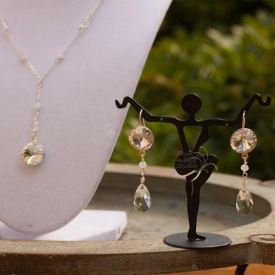 custom crystal bridal jewelry