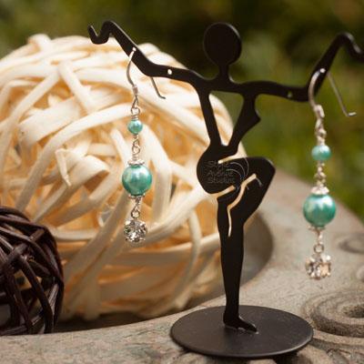 flower girl earrings