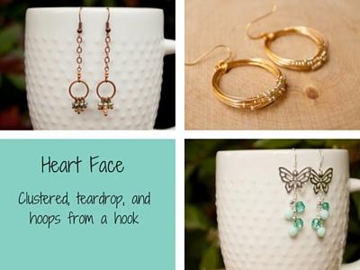 Earrings for Heart Face Shape