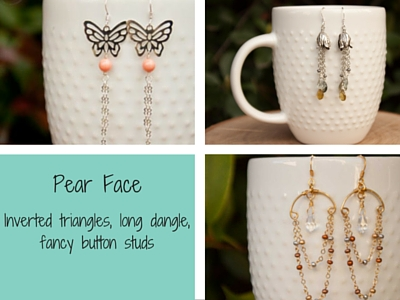 Earrings for Pear Face Shape