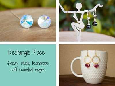 Earrings for Rectangle Shape Earrings