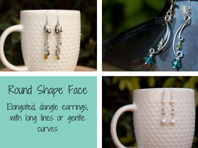 Earrings for Round Face Shape