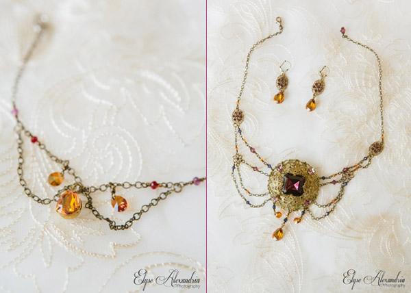 vintage statement bridal necklace