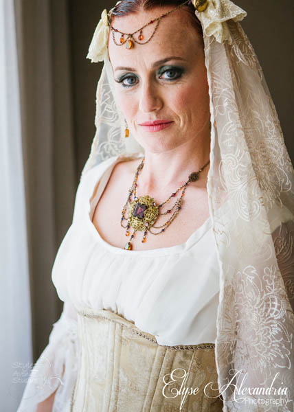 Pirate theme bridal jewelry