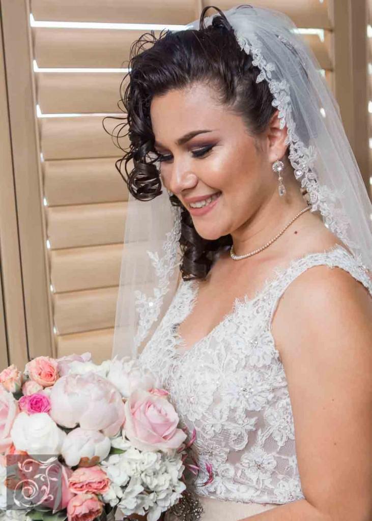 Glamour bridal earrings