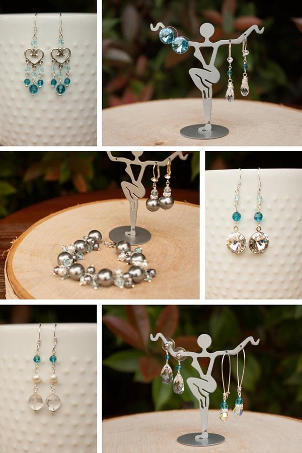 bridesmaid jewelry earrings