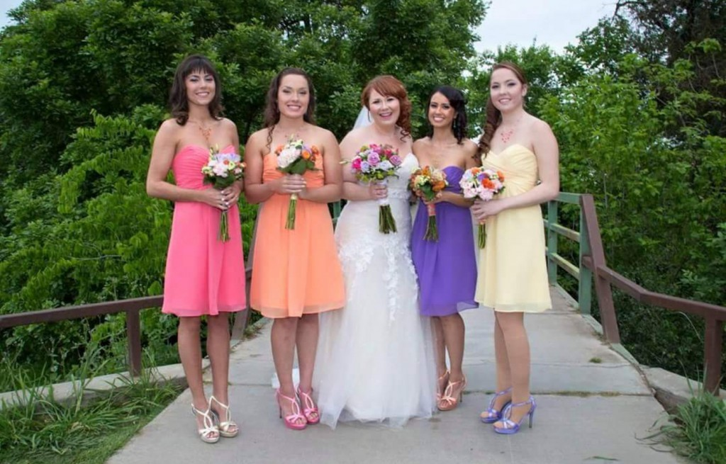 Colorful Bridesmaids Jewelry