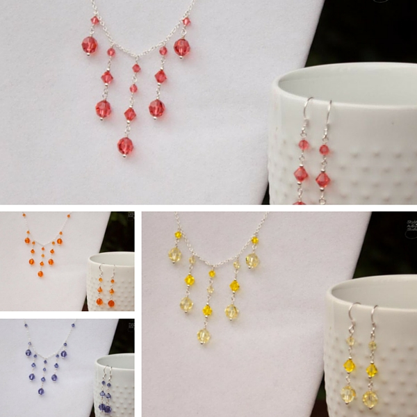 Colorful Bridesmaid Jewelry
