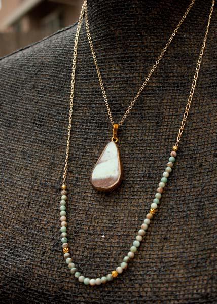 2 strand Boho Necklace