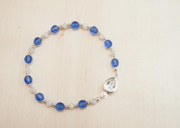 Blue Bridesmaid Bracelet
