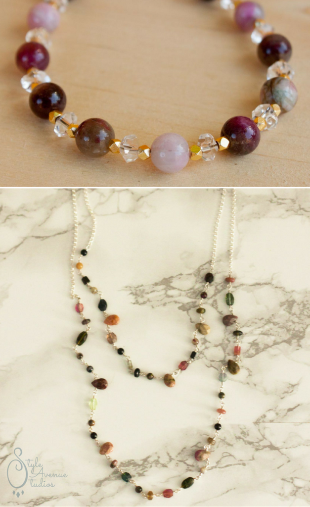 Handmade Tourmaline Jewelry